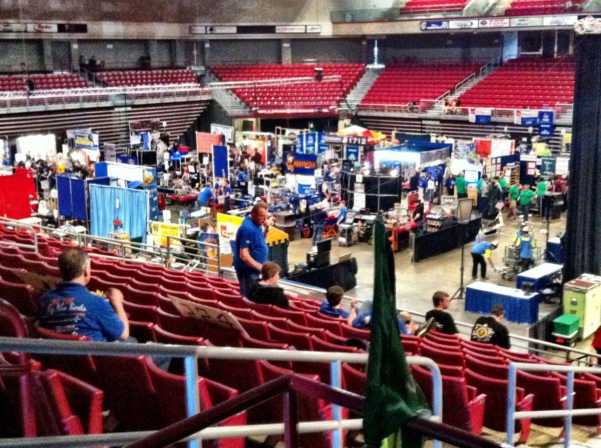 The Pit at MAR Regional 2012